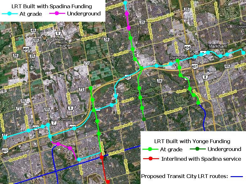 Rapid Transit Options into York Region