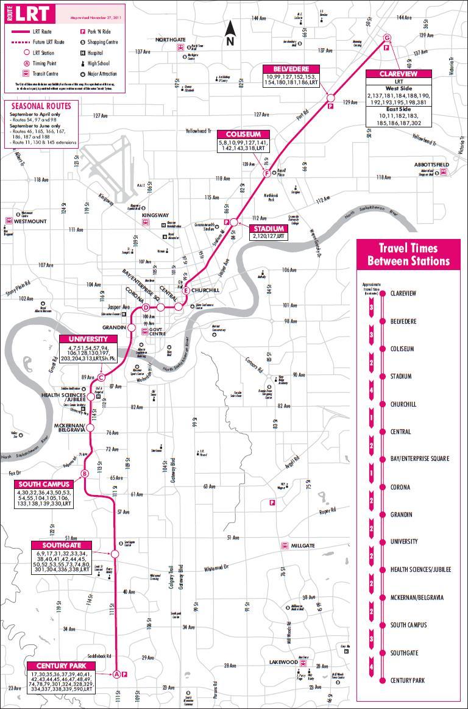 Lrt Information Page Edmonton
