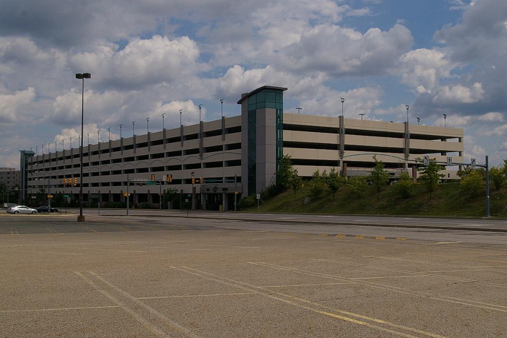 South hills village parking garage