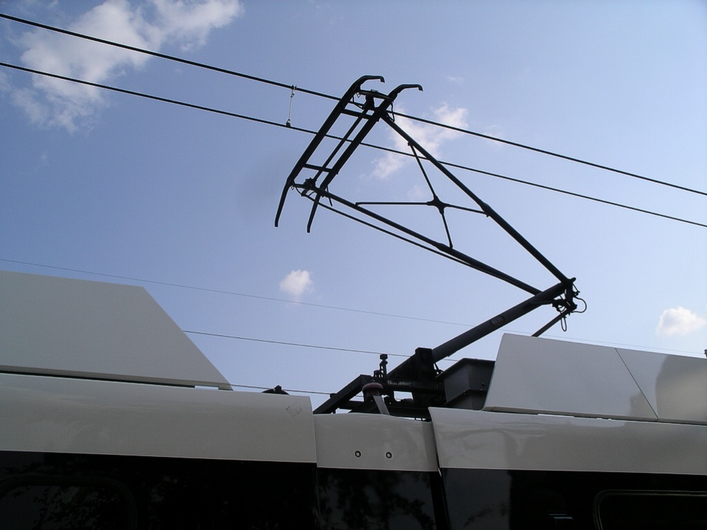 Trolley Poles And Pantographs