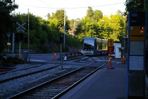 End of single track operation at Ullem