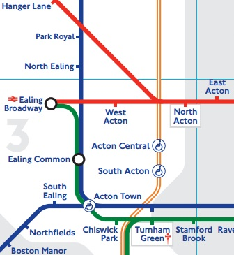 London Underground 'Acton' Stations